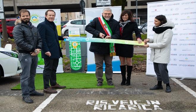 Arrivano a Faenza le colonnine elettriche targate Cura GP